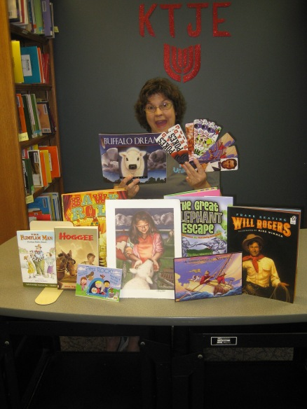 Winning the Oklahoma Children's Author Illustrator School Contest-May 2014